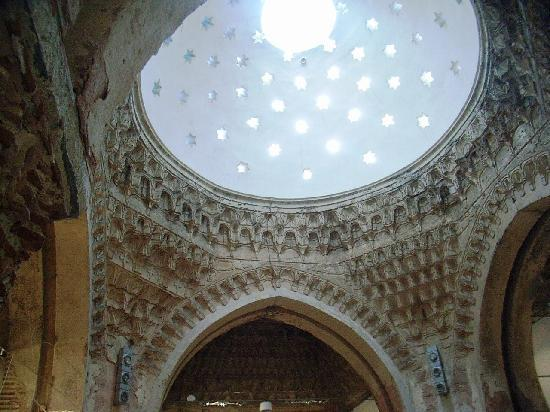 The dome of Davut Paşa Hamamı