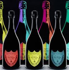 Dom Perignon from Warhol's eyes