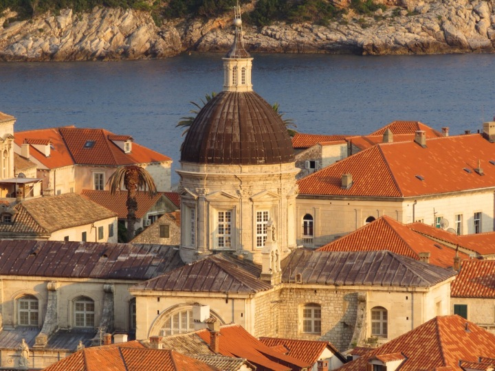 Walking the ramparts of Dubrovnik Sailing aroundCroatia